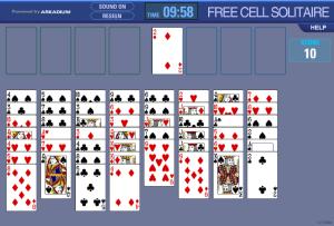 juego cartas solitario