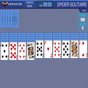 Solitario Spider con Tiempo